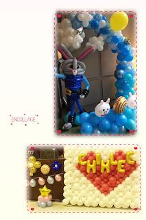中秋氣球佈置