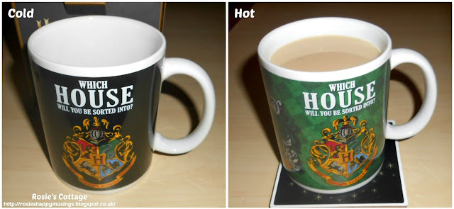 Harry Potter Heat Change Mug - Which House will you be sorted into?