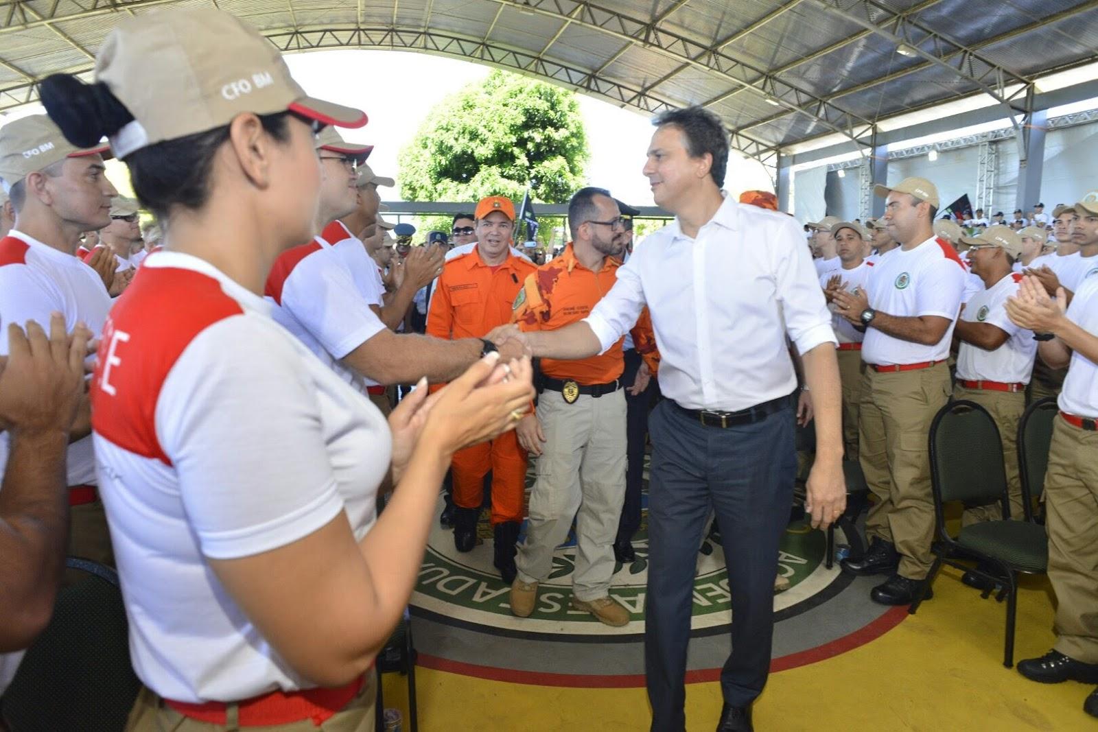 Nova turma amplia efetivo do Corpo de Bombeiros do Ceará 283a6c8774