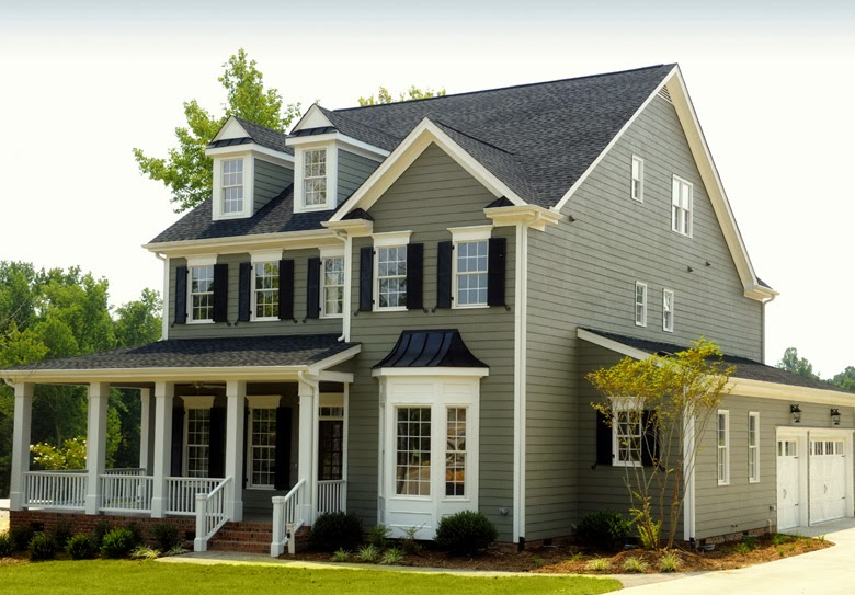 Home Exterior Ideas Part - 18: Gray Exterior House Paint Color