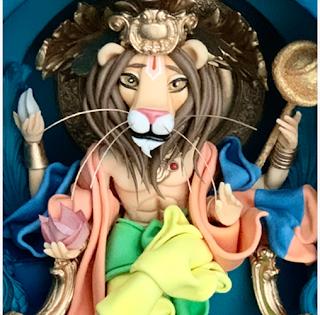 Narasiṃha - Pedro León de Lion's Cakes
