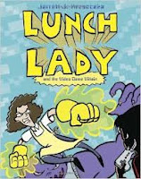 Lunch Lady by Jarrett Krosoczka book cover