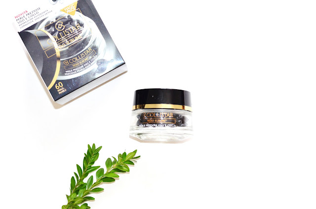 Collistar Nero Sublime Precious Pearls Face And Neck сухое масло для кожи антиэйдж уход от морщин