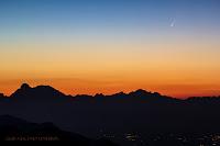 #3. 5 lipca tuż przed wschodem Słońca. Credit: Giacomo Venturin (Monte Grappa, Włochy)