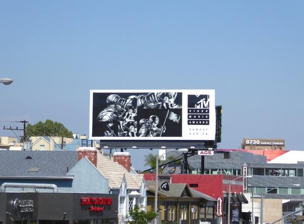MTV 2016 Video Music Awards billboard