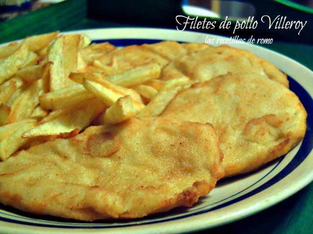"""Filetes de pollo Villeroy"""