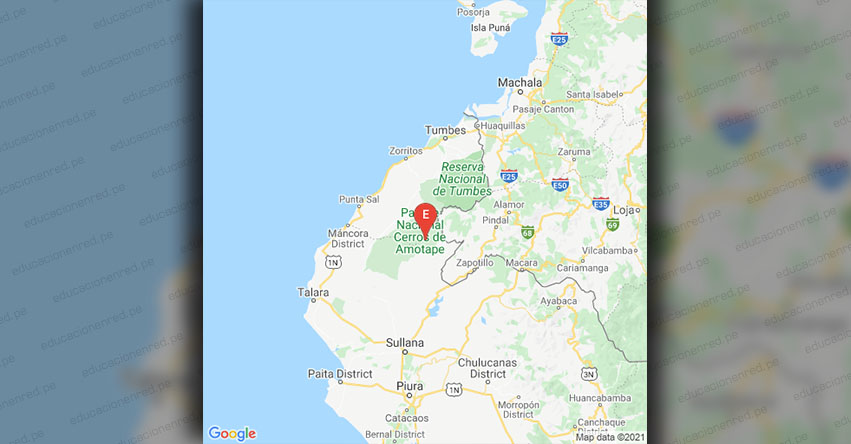 Temblor en Ecuador de Magnitud 5.6 (Hoy Sábado 13 Febrero 2021) Sismo Terremoto Epicentro - Macara - Loja - IGEPN.EDU.EC