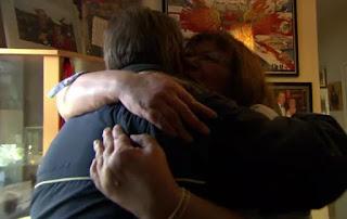 A hug from Alan