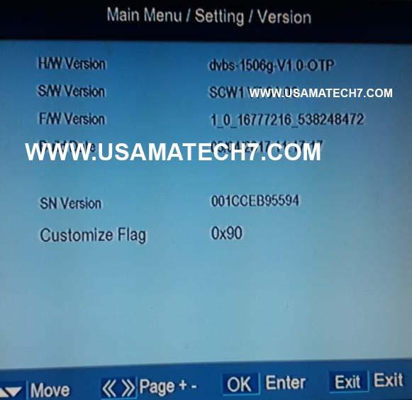 1506G NEW SOFTWARE - 1506G SCW1 SOFTWARE UPDATE - Usama Tech7