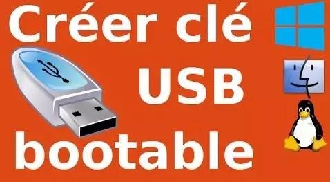 Créer une clé USB amorçable avec Rufus