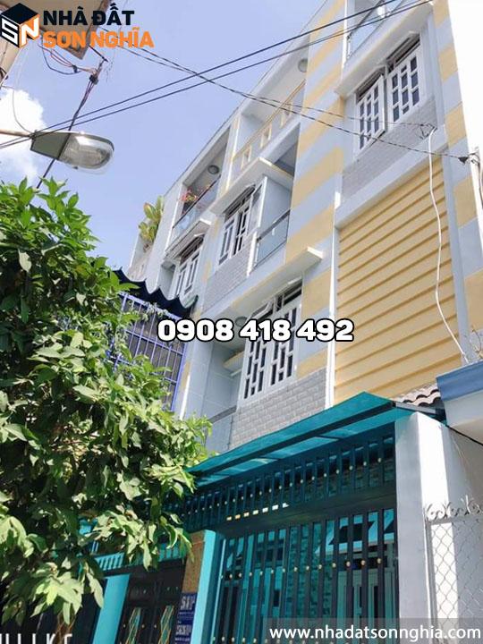 Bán biệt thự mini đường Phan Huy Ích p12 quận Gò Vấp