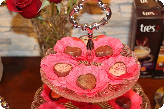 Bombons de Coração : Decoração do Jantar Dia dos Namorados