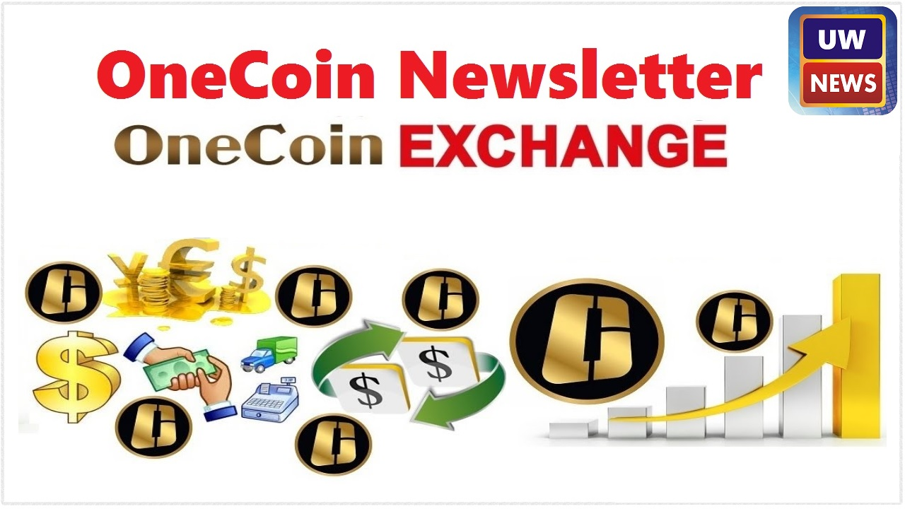 Onecoin Newsletter Officially