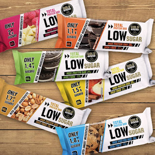 Total Protein Bar Low Sugar Goldnutrition