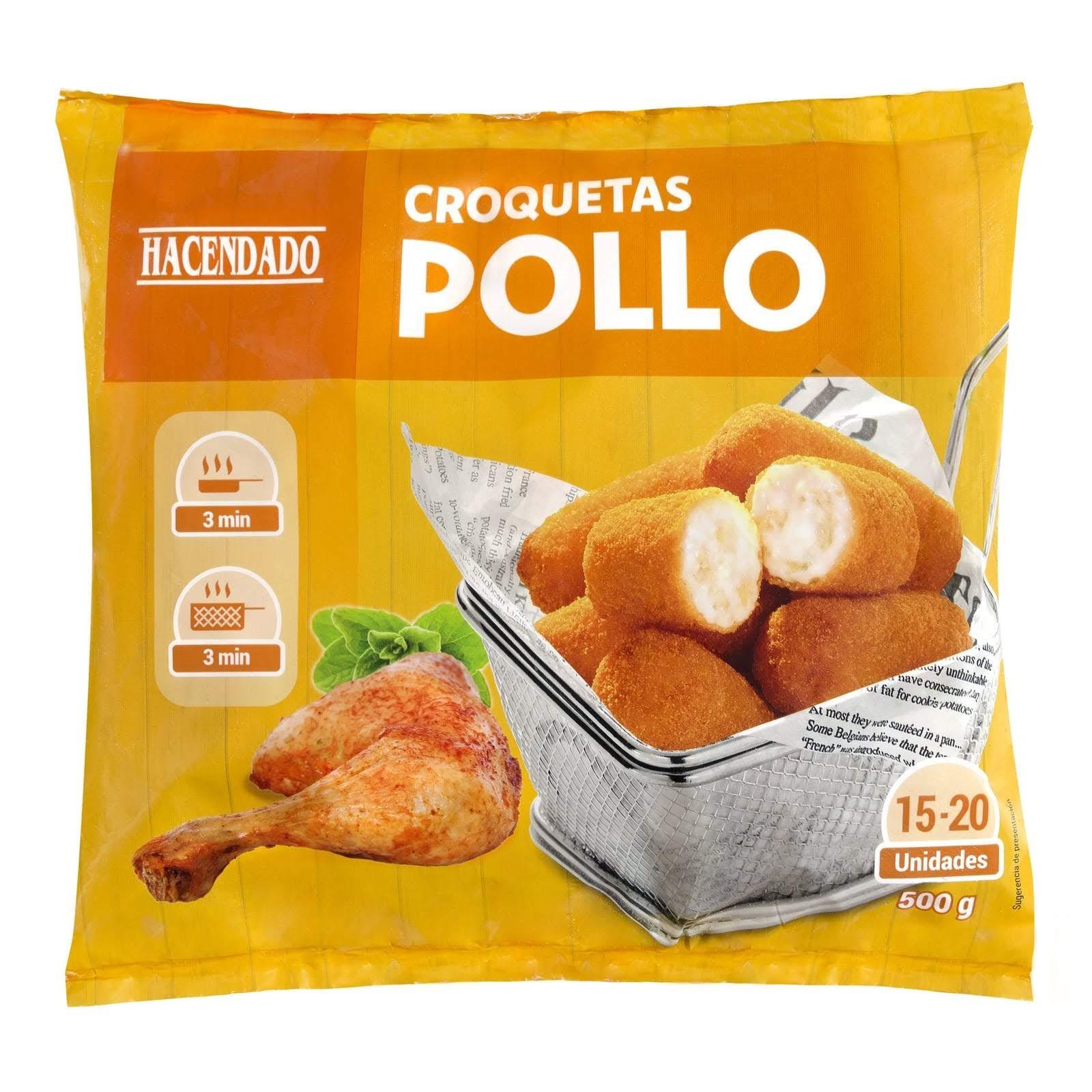 Croquetas de pollo Hacendado