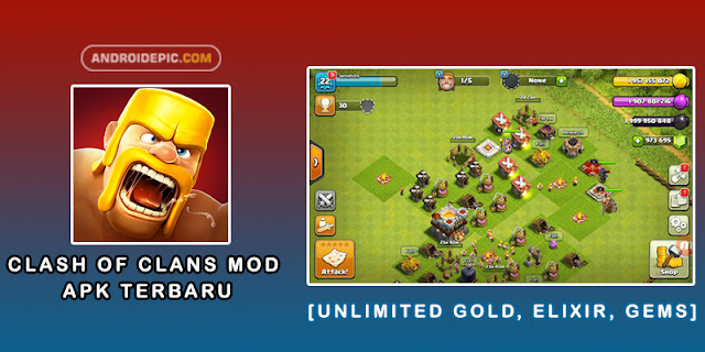 Clash Of Clans Mod Apk Terbaru- androidepic.com