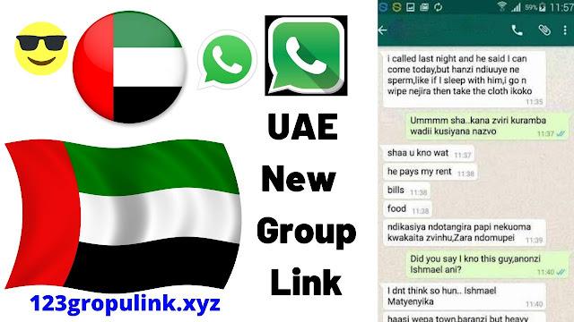 Join 700+ UAE Whatsapp Group Link