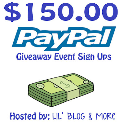 $150 paypal cash worldwide giveaway sign ups