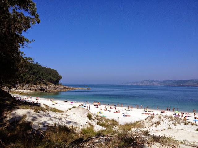 las islas cies galicia