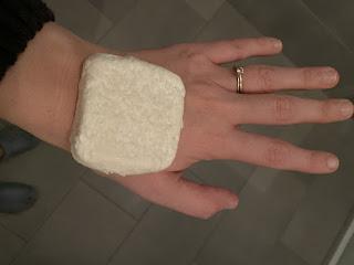 Pain de toilette aux protéines de riz