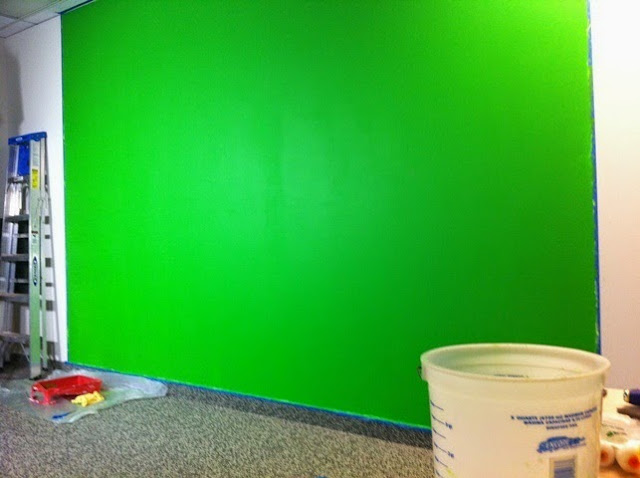 neon wall paint colors