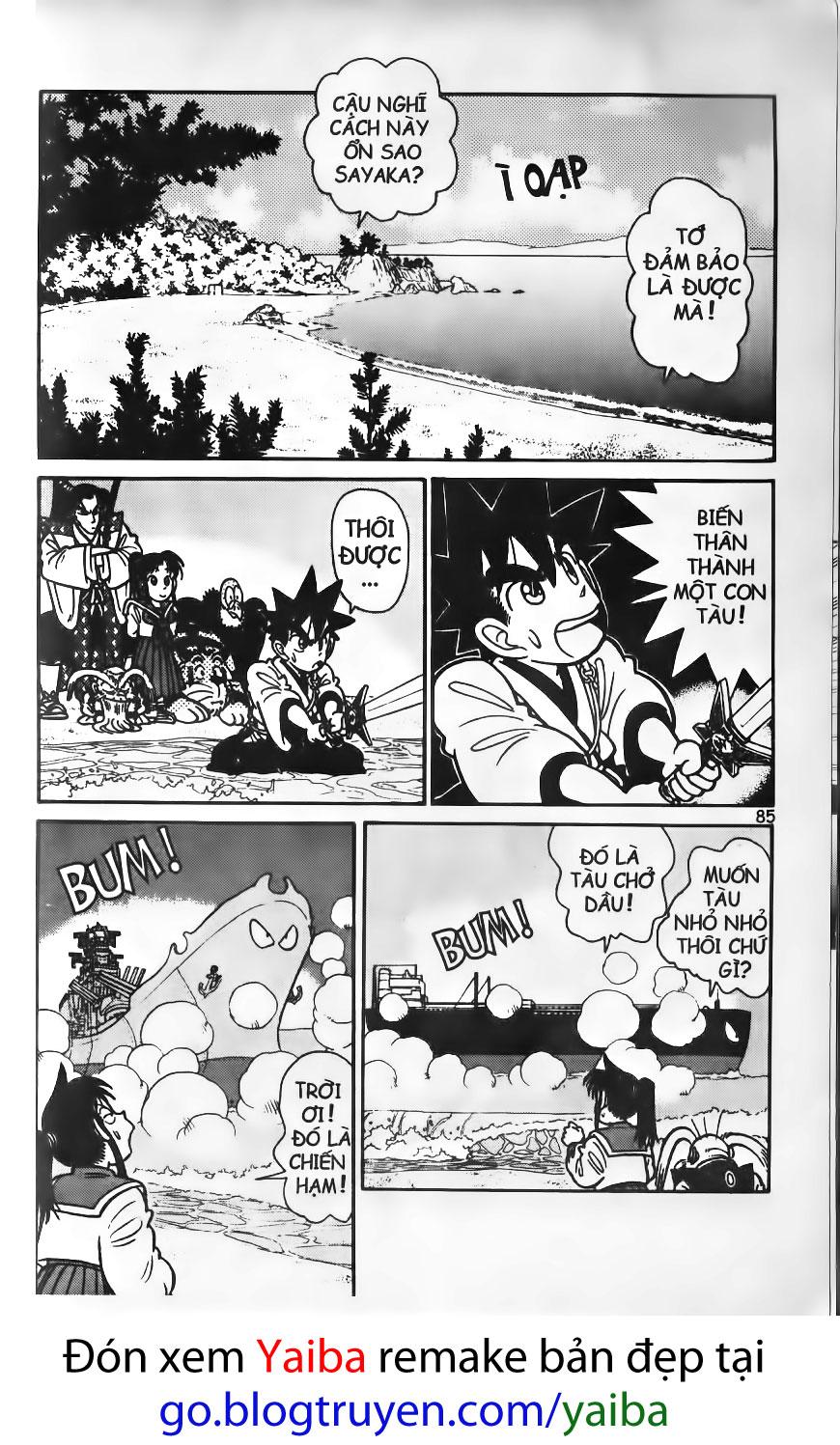 Yaiba chap 74 trang 10