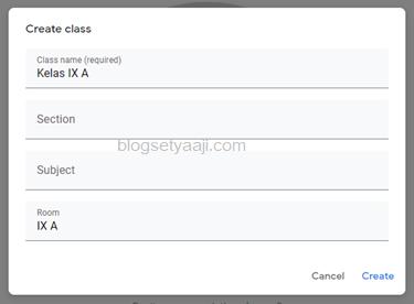 home learning dengan Google Classroom