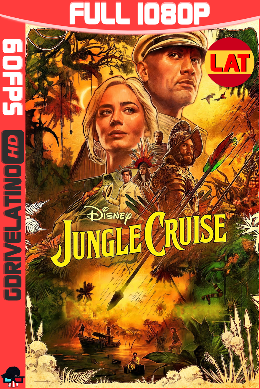 Jungle Cruise (2021) D+ WEB-DL 1080p (60 FPS) Latino-Ingles MKV
