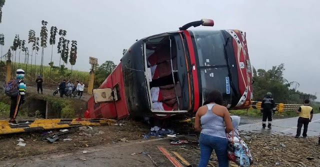 accidente bus naranjal