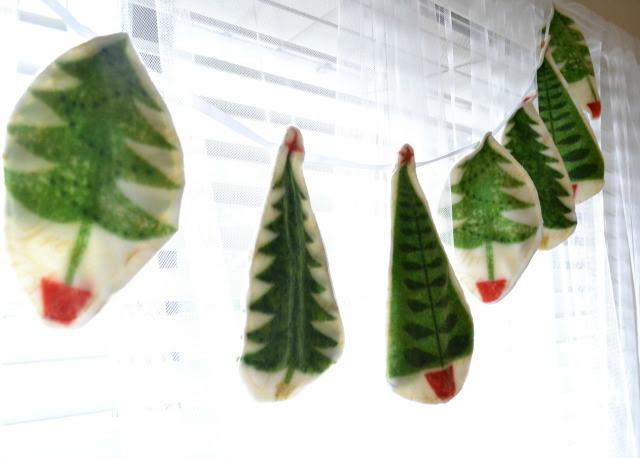 DIY Fleece Christmas Decorations