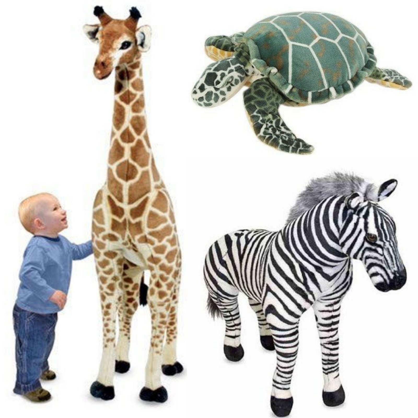 Baby Essentials Giant Stuffed Animals