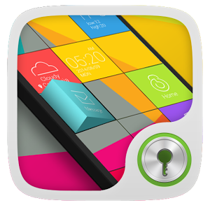 GO Locker Themes | Cube GO Locker Theme For Android Mobiles Free