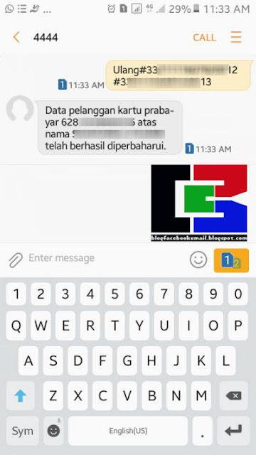 Postingan ini berawal dari sebuah tragedi dimana di suatu malam saya mendapat SMS dari Cara Registrasi Ulang Kartu SIM Lama + Contoh SMS Yang Sudah Sukses