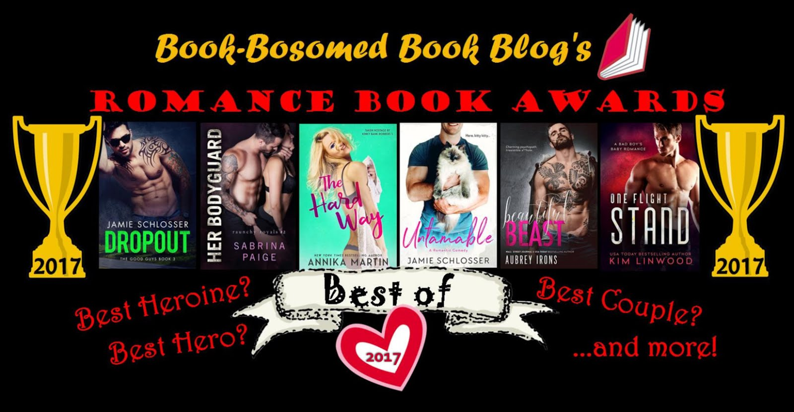 2017 Romance Book Awards