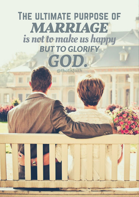Glorify God in your marriage