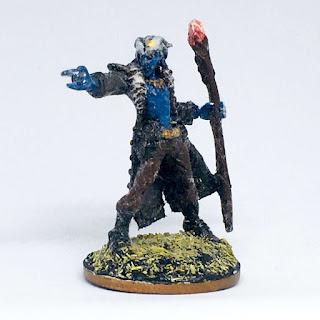 Reaper Bones Damien, Hellborn Wizard