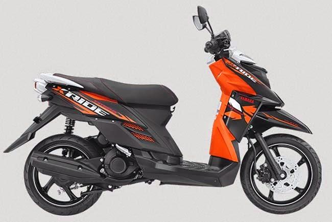 Harga Yamaha X ride