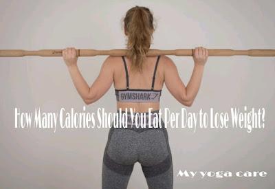 Weight loss calories calculator