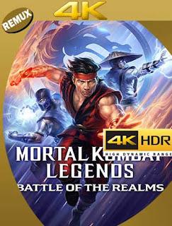 Mortal Kombat Leyendas: La batalla de los reinos (2021) 4K REMUX 2160p UHD [HDR] Latino [GoogleDrive]