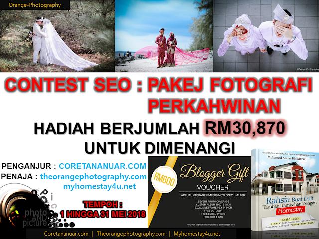 Pakej Fotografi Perkahwinan