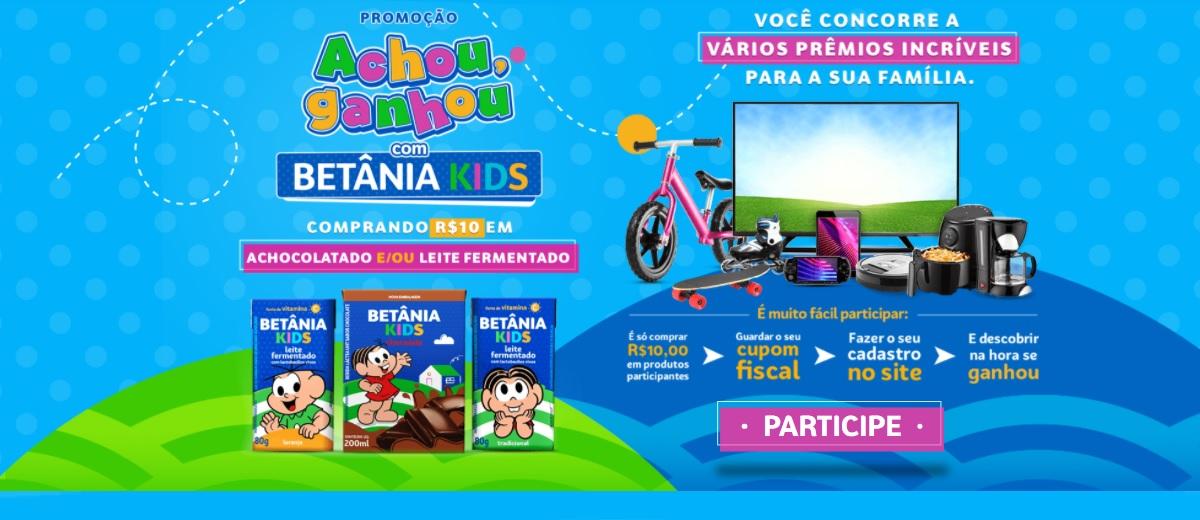 Promoção Betânia Kids Achou, Ganhou 2021