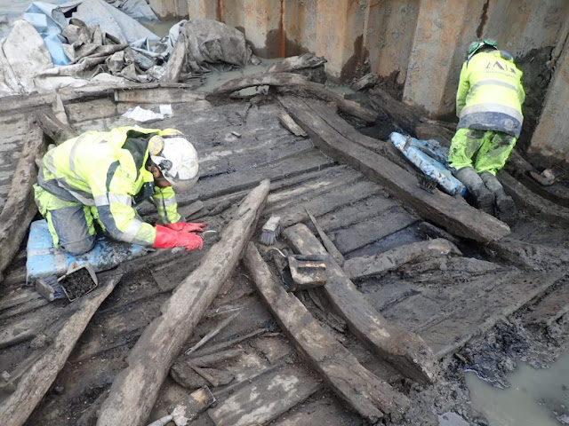 Three 17th-century shipwrecks found in central Gothenburg