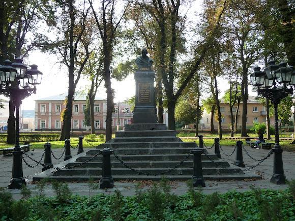 Нежин. Памятник Н. В. Гоголю. 1881 г.