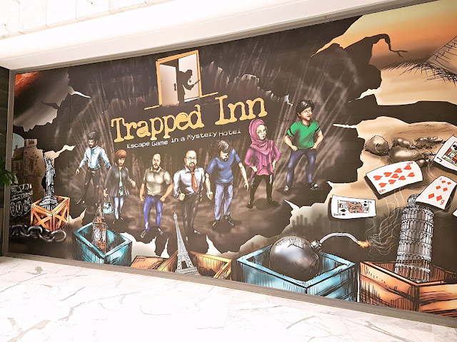 Trapped Inn, Symphony Mall, Salmiya, Kuwait - Escape Game in a Mysterious Hotel