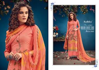 Radhika Azara vol 34 Cambric Salwar Kameez Wholesaler