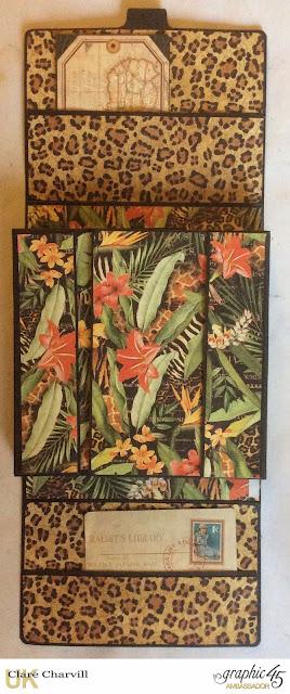 Safari Adventure Photo Wallet 1 Clare Charvill Graphic 45
