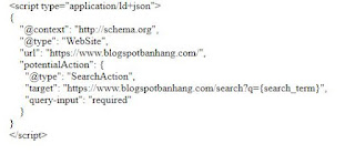 Code Google Search Box cho blogspot
