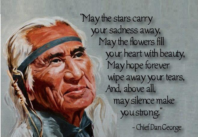 May the stars carry your sadness away may the flowers fill ...