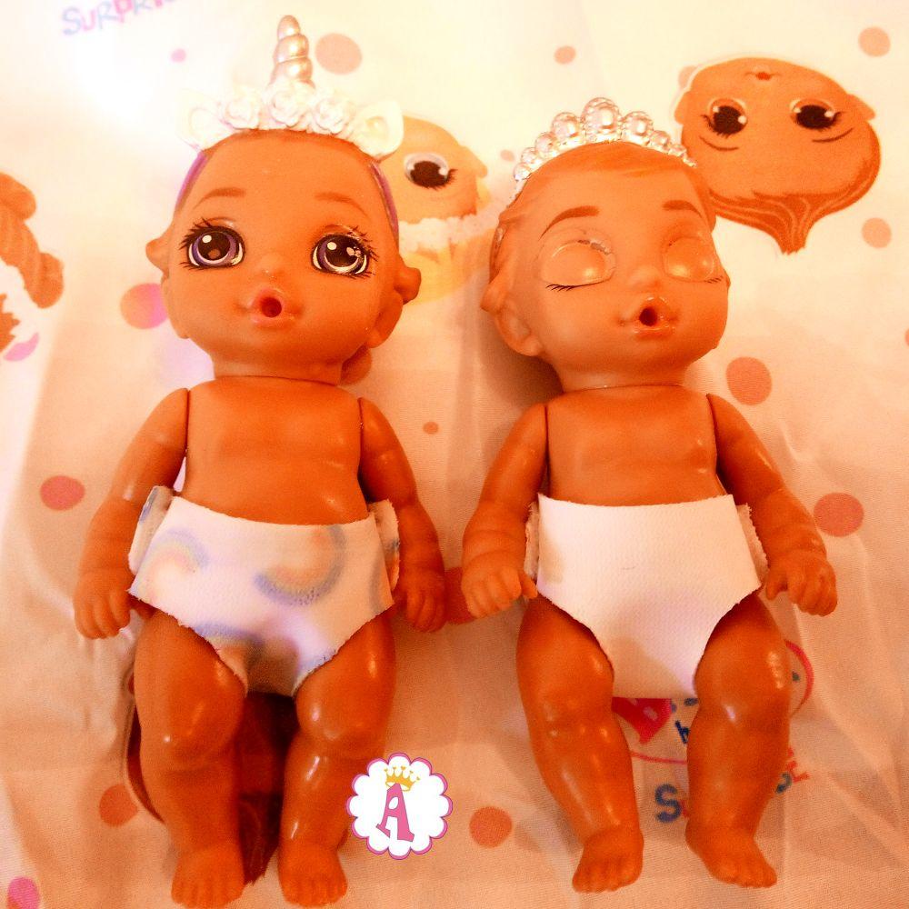 Рисунок на мокром подгузнике Baby Born Surprise Series 2