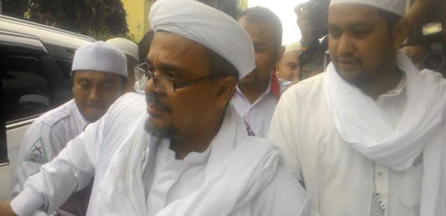 Habib Rizieq Kecewa Ulama Mesir Jadi Saksi Kasus Ahok